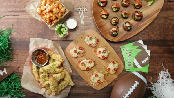 3 or 4 game day snacks